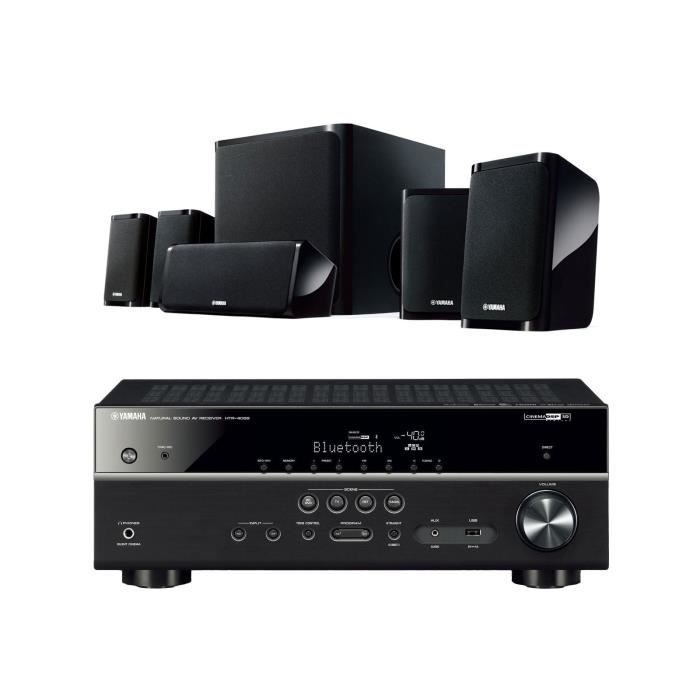 yamaha yht 4930bl ampli tuner home cin ma 5 1 3d avec. Black Bedroom Furniture Sets. Home Design Ideas