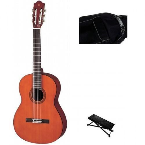 guitare classique 1 2 yamaha repose pied housse pas. Black Bedroom Furniture Sets. Home Design Ideas