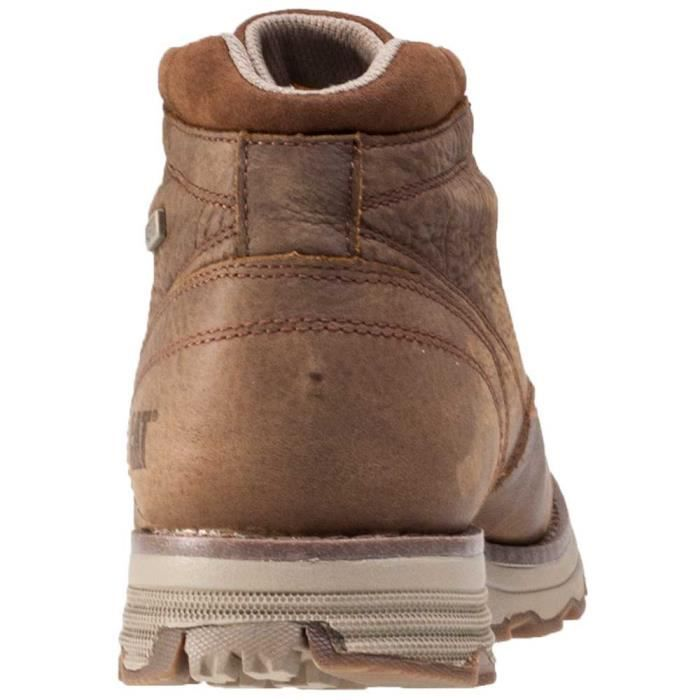 Caterpillar Elude Wp Hommes Bottines Brown - 12 UK