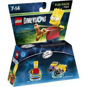FIGURINE DE JEU Figurine LEGO Dimensions - Bart Simpson - Les Simp