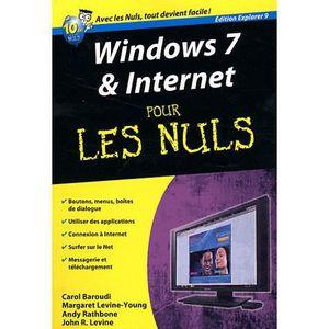 LIVRE INTERNET Windows 7 & Internet pour les nuls