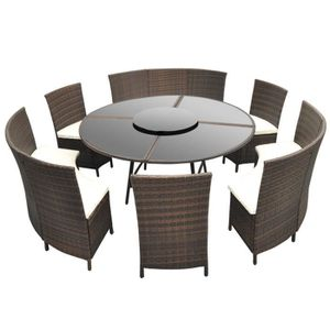 table ronde exterieur achat vente table ronde exterieur pas cher soldes cdiscount. Black Bedroom Furniture Sets. Home Design Ideas
