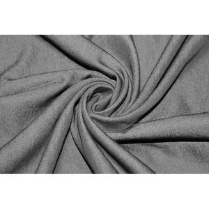 TISSU Tissu Jean's Noir -Au Mètre