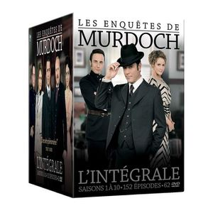 DVD SÉRIE Les Enquêtes de Murdoch - L'intégrale - Saisons 1