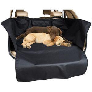 TAPIS DE TRANSPORT Tapis de protection Oxford pour chien et chat noir