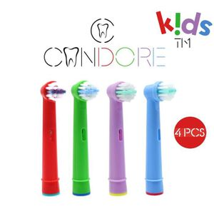 BROSSE A DENTS Candore® Pack 4 Brossettes Kids Compatibles Brosse