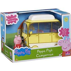 FIGURINE - PERSONNAGE Peppa Pig Peppa's Campervan Avec Peppa Figure & Ac