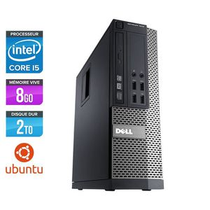 UNITÉ CENTRALE  Pc de bureau Dell 790 - Core i5-2400 - 8Go - 2 To