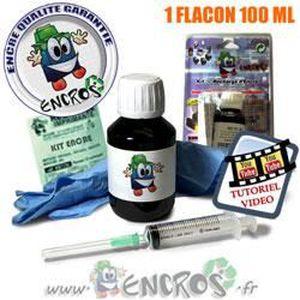 CARTOUCHE IMPRIMANTE JET ENCRE- HP60 - Kit Recharge Encre Noir