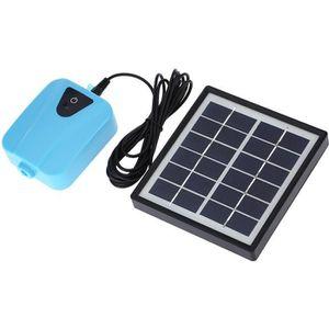 FONTAINE DE JARDIN Mini pompe à oxygène Panneau solaire de pompe à ea