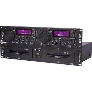 PLATINE DJ IBIZA SOUND 15-2211 Double lecteur CD / USB avec s