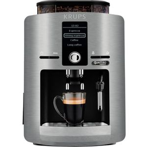 MACHINE À CAFÉ Krups EA82FB, Autonome, Machine à expresso, 1,7 L,