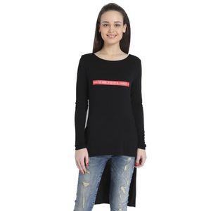 T-SHIRT Only T-shirt solide de femmes FFZZ1 Taille-38