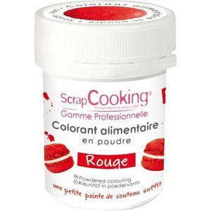 COLORANT ALIMENTAIRE Colorant alimentaire Rouge