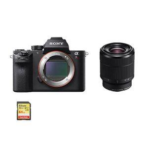 APPAREIL PHOTO RÉFLEX SONY A7R II + SEL 28-70MM F3.5-5.6 OSS (White box)