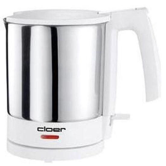 Cloer 4701 chauffe-eau inox blanc