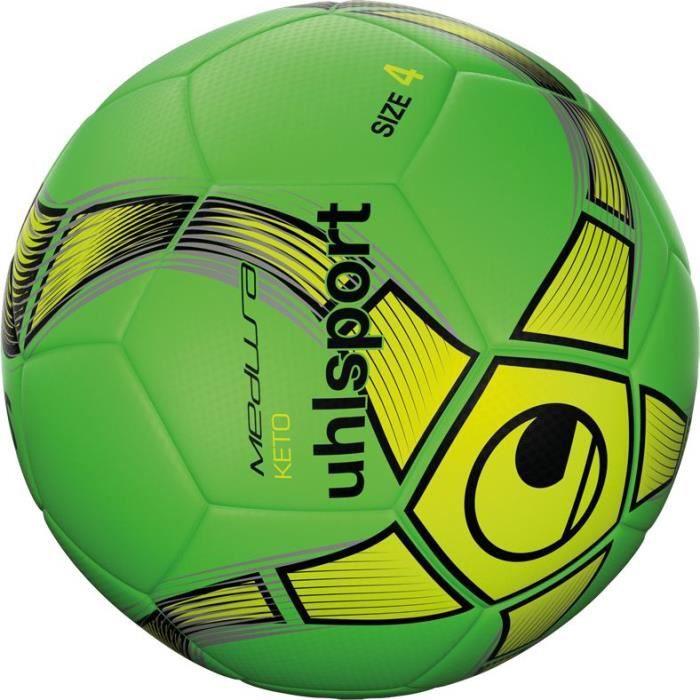 UHLSPORT Ballon de foot salle Medusa Keto - Taille 4