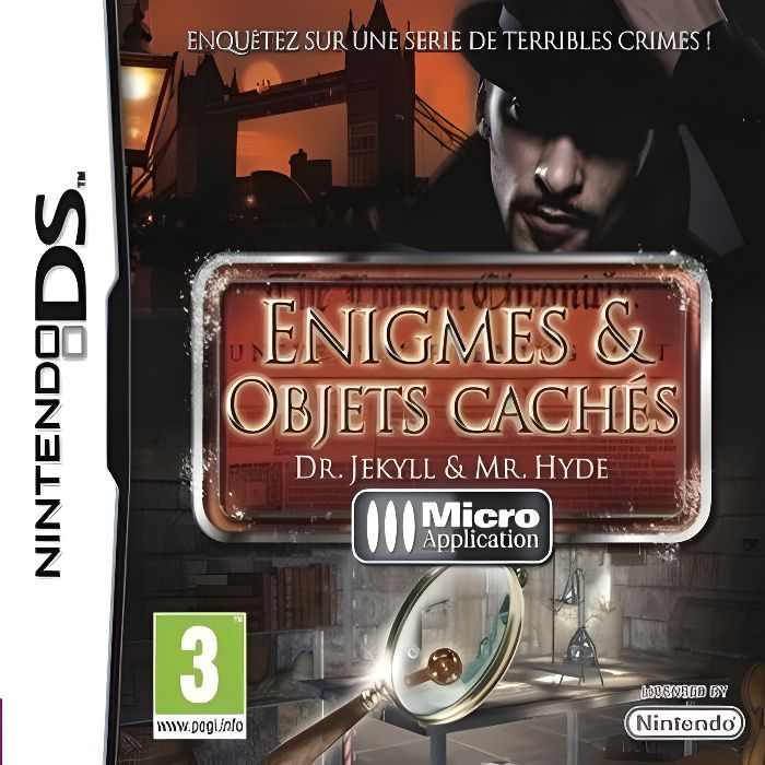 DR JEKYLL & MR HYDE ENIGMES ET OBJETS CACHES / Jeu