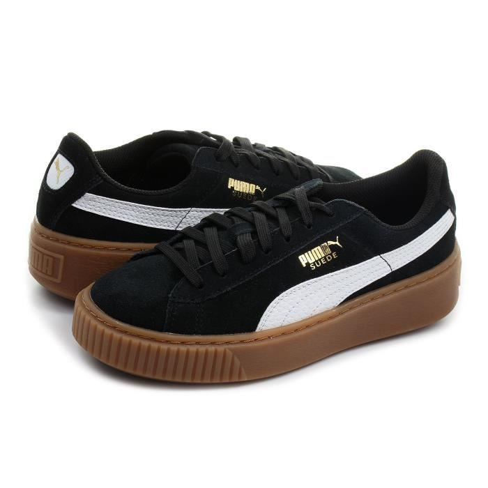 more photos e8ba8 7cbad BASKET PUMA Baskets Suede Platform SNK Chaussures Junior