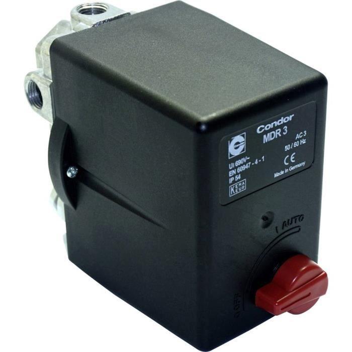 Interrupteur à pression pour air comprimé Aerotec 9063076 1 pc(s)