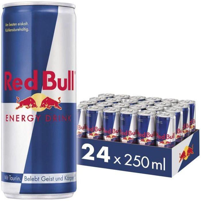 Energy drink Red Bull Pack de 24 canettes de 250 ml