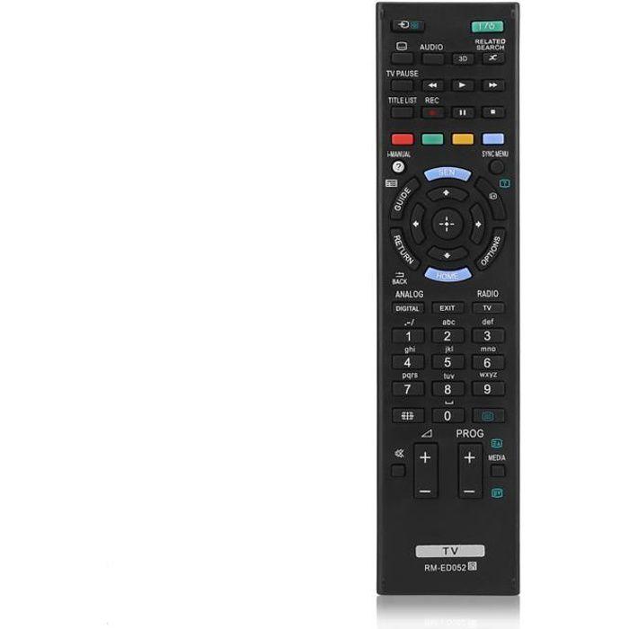 Télécommande de remplacement pour SONY TV RM-ED052 / RM-ED050 / RM-ED047 / RM-ED053 / RM-ED060