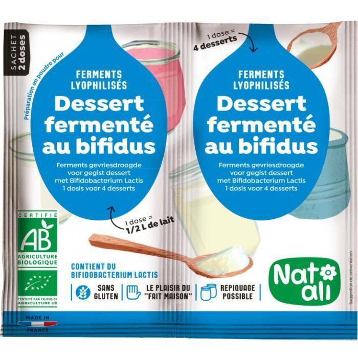 Nat-Ali - Ferment pour desserts fermentés au bifidus 2x6gr