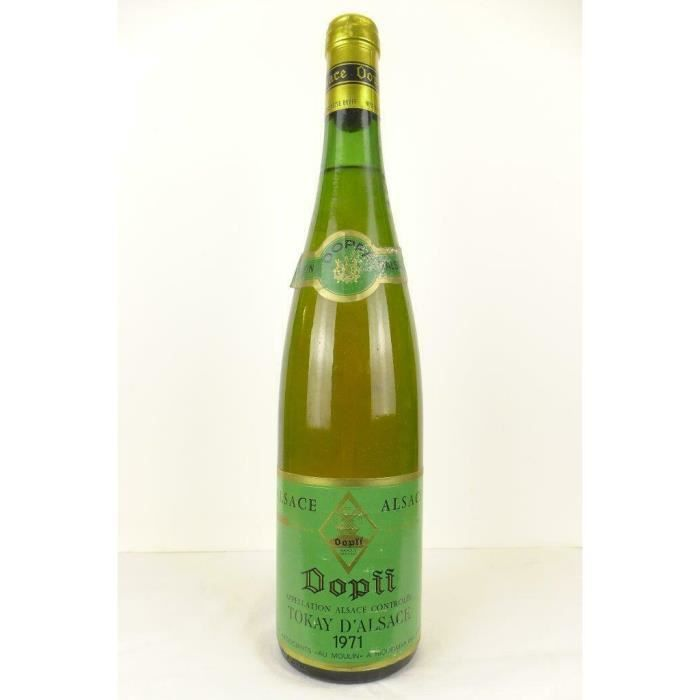 pinot gris dopff blanc 1971 - alsace