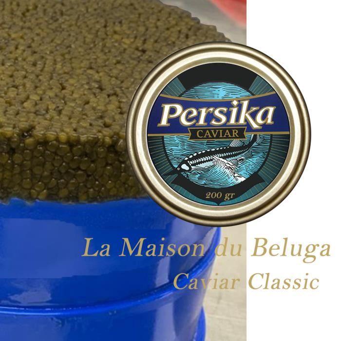 Caviar Classique de 200gr de la Maison du Beluga (Persika)