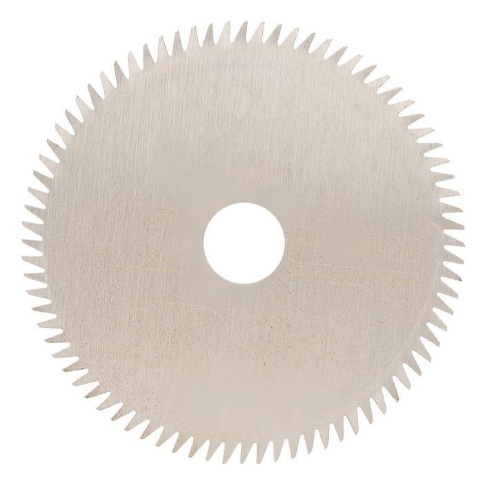 85 * 15 * 1.5mm dents de 80T Mini carbure cémenté lame de scie circulaire Machine à couper Accessoires outils