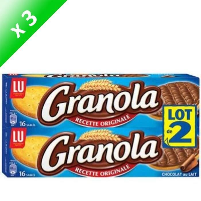 [LOT DE 3] Granola Chocolat Au Lait 2x200g