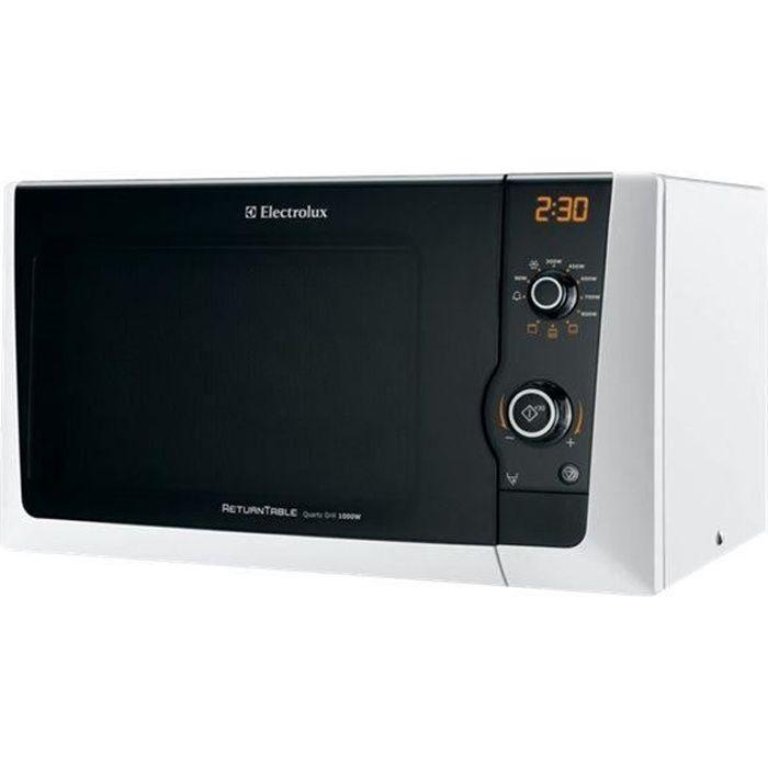 Electrolux EMS21400W Four micro-ondes grill pose libre 18.5 litres 800 Watt blanc