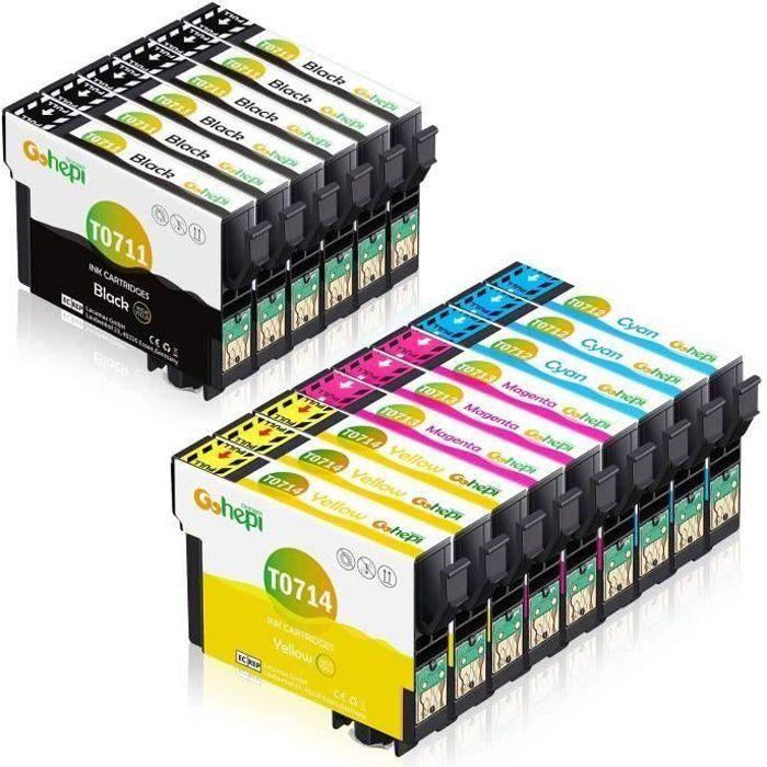 Compatible Epson T7015 T0711 T0712 T0713 T0714 Cartouche...