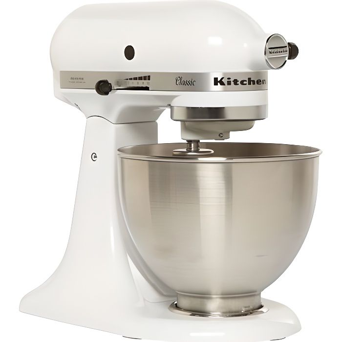 ROBOT MULTIFONCTIONS - KitchenAid 5KSM45 EWH blanc