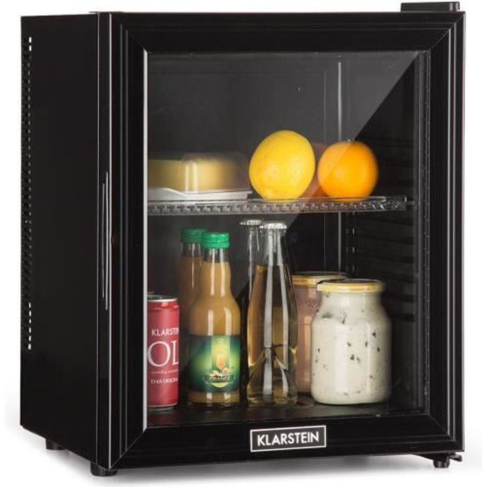 Réfrigérateur à boissons - Klarstein Brooklyn - Compact - Minibar 24 litres - Noir