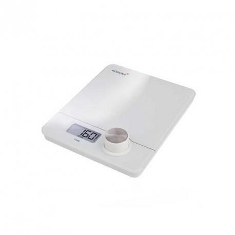 K76160 - Pia blanc - Balance de cuisine - sans piles et écologique