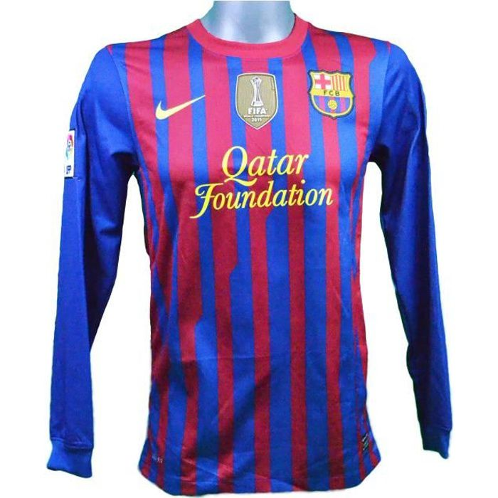 Maillot domicile manches longues FC Barcelone 2011/2012 Messi