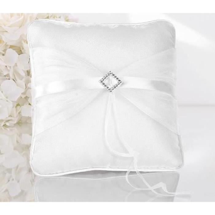 Coussin alliance Strass