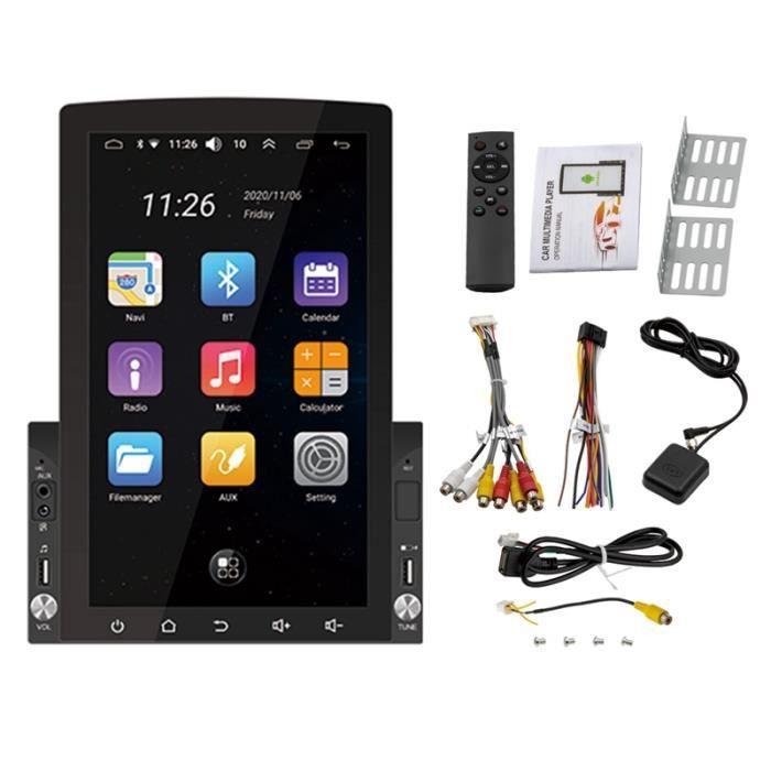 10,1 Pouces Double Din Android 10.0 Autoradio 1 Go + 16 Go Lecteur DVD de Voiture GPS Radio Wifi pour Autoradio Universelle