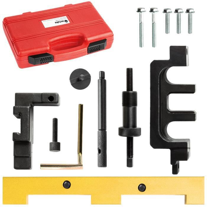 TECTAKE Coffret d'outils de Calage Distribution Moteur BMW N42 / N46 Essence 1.8 et 2.0