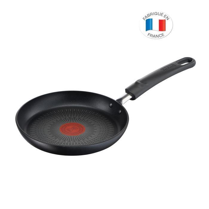 TEFAL G2550602 Poêle 28 cm UNLIMITED - Tous feux dont induction - Fabrication française - Noir