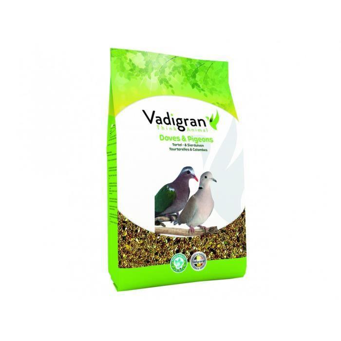 pour OISEAUX tourterelles et colombes 4Kg-Vadigran 10,000000