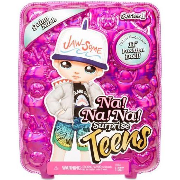 Zapf Creation 572602EUC Na! Na! Na! Surprise Teens Doll Quinn Nash