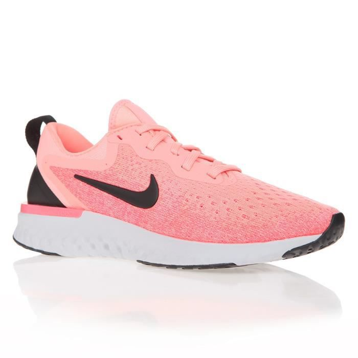 NIKE Baskets Odyssey React Running - Femme - Rose