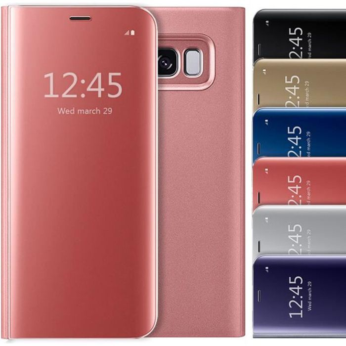 Coque Samsung galaxy S6 edge Etui à rabat Clear Vi