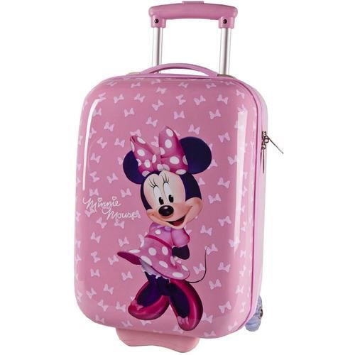 valise cabine enfant minnie mouse 48cm rose rose achat vente valise bagage 3662796029602. Black Bedroom Furniture Sets. Home Design Ideas