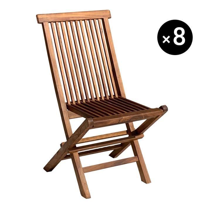 jardin de de Lot 8 chaises FK1TJlc