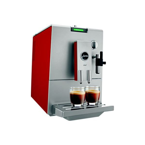 Expresso broyeur jura ena 7 cherry red aroma achat vente moulin caf - Machine expresso broyeur ...