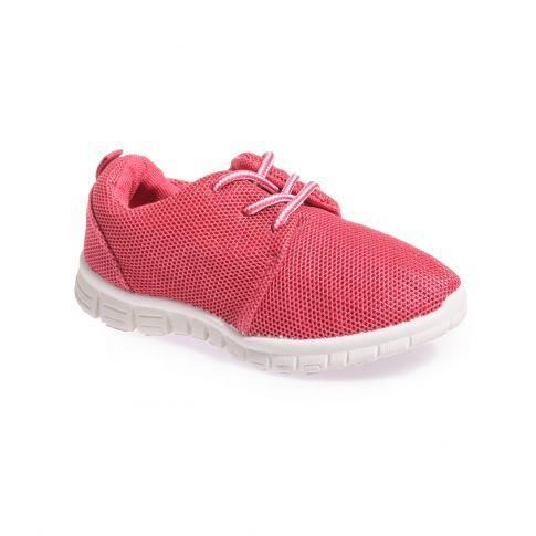 Baskets enfant type Running rose