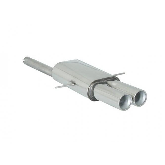 44-47 mm 150 mm Autostyle AS 742 Embout dEchappement Acier//Chrom/é 50 mm